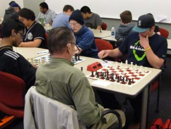 Chess tournament in Utah in 2016