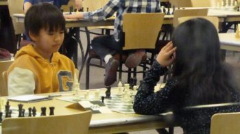 children in a chess tournament in Utah