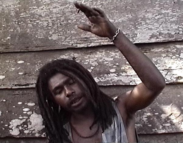 native Gideon Koro describes the flight of the ropen on Umboi Island